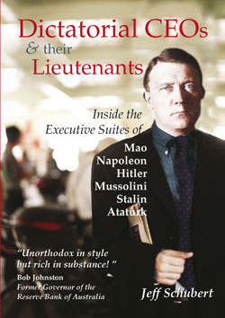 Book cover: Dictatorial CEOs & their lieutenants